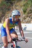 danel Europe Fabien fra zawody międzynarodowe triathlon Obrazy Royalty Free