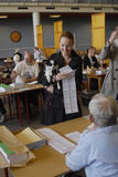 DANES CASTING VOTES Stock Photos