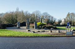 Daneshill roundabout, Basingstoke Royalty Free Stock Photography