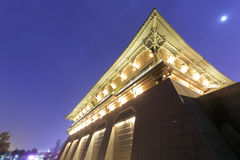 Danfeng gate of daming palace ruins royalty free stock image