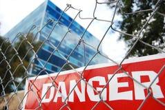 Danger Image libre de droits