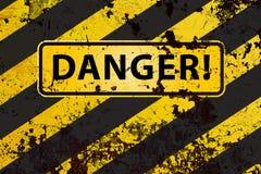 Danger ! illustration stock
