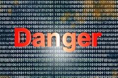Danger Photographie stock libre de droits