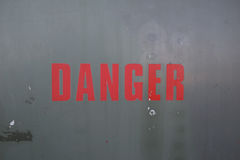 Danger Photo libre de droits