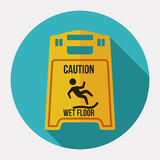 Danger advert design. Danger advert design over white background, vector illustration stock illustration