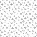 Danger and alarm pattern seamless Stock Photos