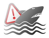 Danger attack sign. Design of danger attack sign Royalty Free Stock Images