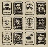 Danger. Authors illustration in vector Stock Illustration