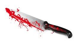 Danger avec des couteaux Photo stock