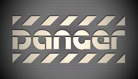 Danger background Stock Photos