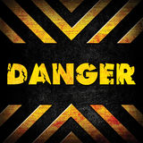 Danger background Royalty Free Stock Photo
