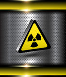 Danger background Stock Image