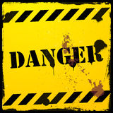 Danger background Royalty Free Stock Photography