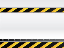 Danger background with text Royalty Free Stock Image