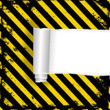 Danger background Royalty Free Stock Image