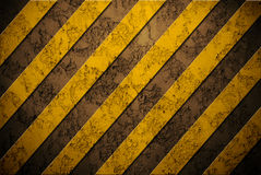 Danger background on wall Stock Photo