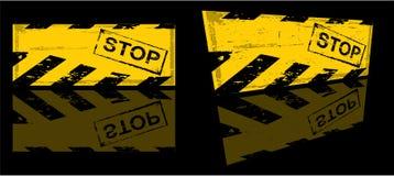 Danger banner Stock Photography