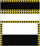 Danger banners. Royalty Free Stock Photos