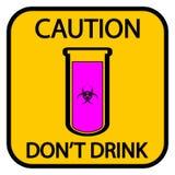 Danger biohazard sign Stock Photo