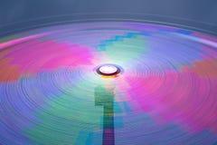 Danger carousel - big wheel in motion at night Stock Images