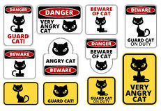 Danger cat Royalty Free Stock Photography