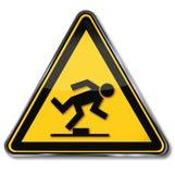 Danger tripping hazard Stock Photography
