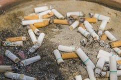 Danger of Cigarette Stock Image