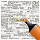 DANGER. Stock Images