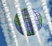 Danger d'environnement global de Chemtrails Images libres de droits