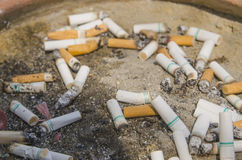 Danger de cigarette Image stock