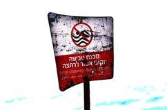 Danger de la noyade Photos libres de droits