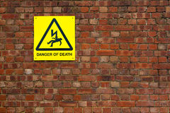 Danger of death Stock Photos