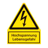 Danger of death Electric shock Stock Photography