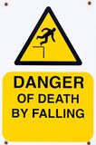 Danger of Death sign Royalty Free Stock Image