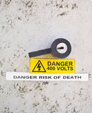 Danger of death Royalty Free Stock Photography