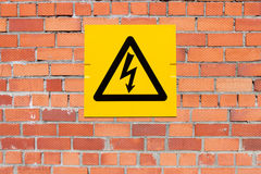 Danger of Death Warning sign Royalty Free Stock Photo