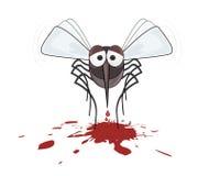 Danger des moustiques - moustique d'ARRÊT - moustiques morts Images stock