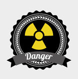 Danger design Royalty Free Stock Images