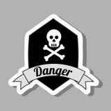 Danger design Stock Images