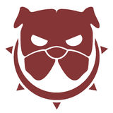 Danger dog icon. Creative design of danger dog icon Royalty Free Stock Images