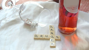 Danger Drugs! Stock Photo