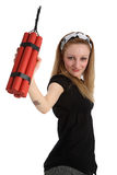 Danger, dynamite Royalty Free Stock Photo