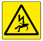 Danger Electricity Stock Photo