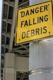 Danger Falling Debris Stock Image