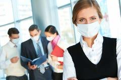 Danger of flu Royalty Free Stock Photos