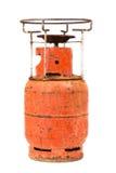 Danger gas bottle Royalty Free Stock Image