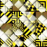 Danger geometric background Stock Images