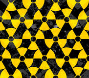 Danger geometric background Royalty Free Stock Image
