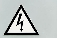 Danger - High Voltage Stock Photography