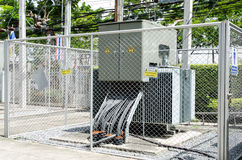 Danger High Voltage. Royalty Free Stock Images